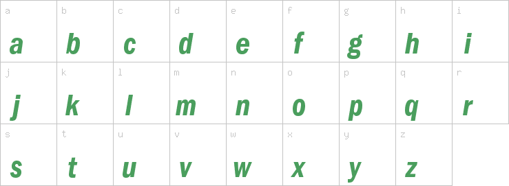 FranklinGothic-DemiCndItal | F | Sans Serif Fonts | OpenType