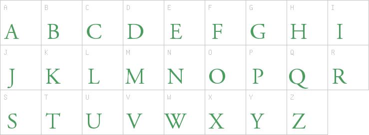 AGaramond-Regular   A   Serif Fonts   OpenType   Free Font