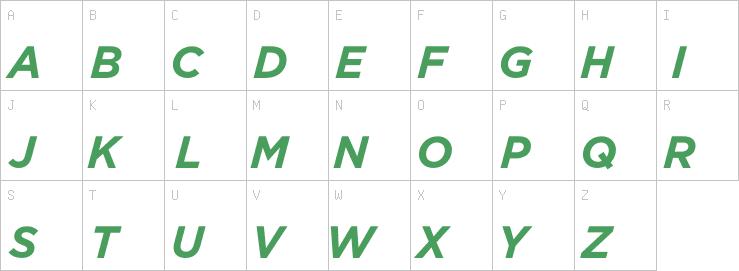 Gotham-BoldItalic | G | Sans Serif Fonts | OpenType | Free
